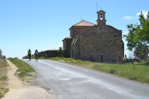 Guests cycling the Camino de Santiago