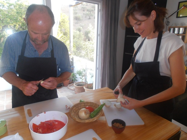 cooking class, Malaga