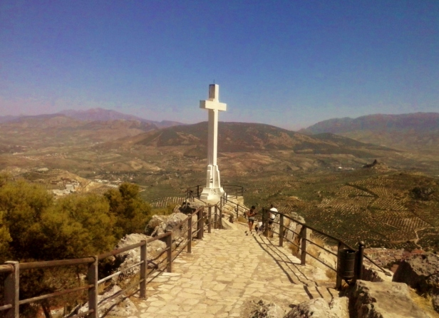 Jaen monumental cross