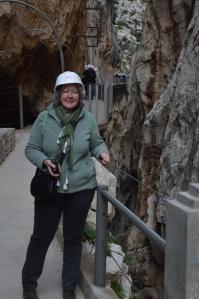Rachel Webb, King's Walkway, Caminito del Rey