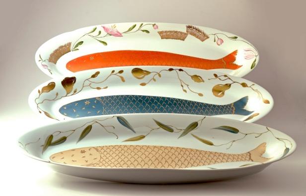 Carmen Munoz, hand painted ceramics
