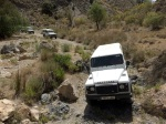 LandRover 4x4 with Garnata Tours