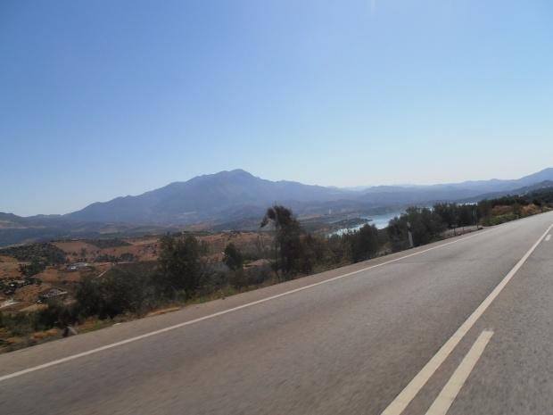 Empty Road, Road Trip Spain