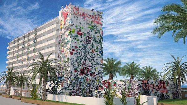Ushuaïa Ibiza Beach Hotel, The Tower Restaurant