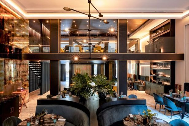 Linia-Restaurant, Almanac Hotel