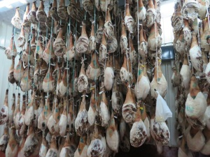 Drying Jamon DO Jabugo